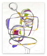 Tracey ADAMS - Peinture - Balancing Act 1