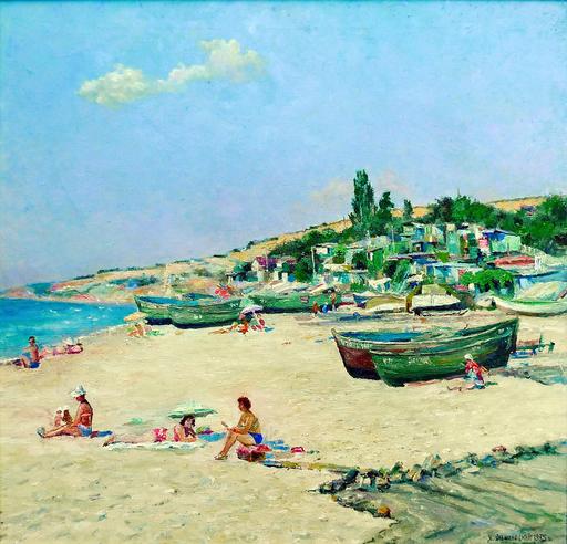 Jacov OLSHANETSKY - Pintura - Odessa -Green Hill
