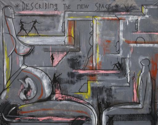 José BEDIA VALDÉS - Pintura - Describing the new space