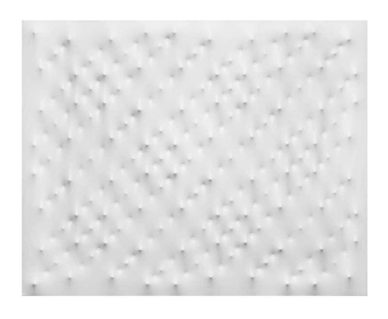 Enrico CASTELLANI - Pintura - Superficie bianca