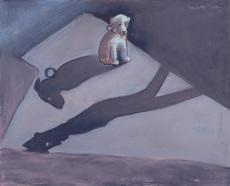 Jean LAMBERT-RUCKI - Dibujo Acuarela - A l'ombre du maître