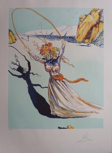 萨尔瓦多·达利 - 版画 - Transcendent Passage