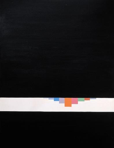 Eugenio CARMI - Gemälde - Sipario Nero 1