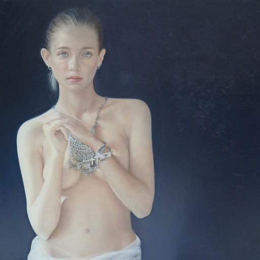 Anne DEWAILLY - Painting -  Salomé