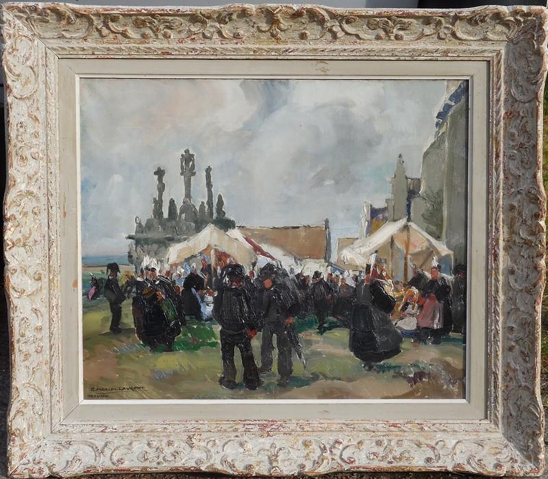 Emmanuel MARCEL-LAURENT - Painting - TRONOEN