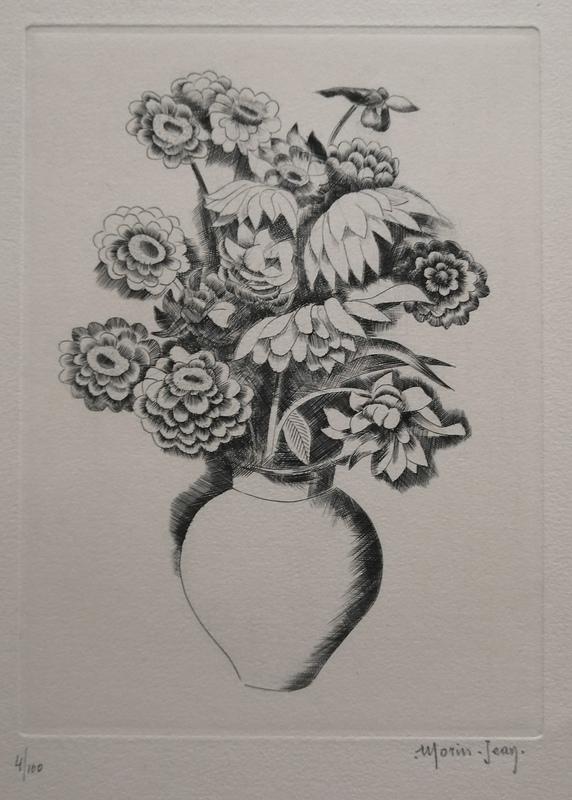 Jean A. Joseph Morin MORIN-JEAN - Print-Multiple - Vase de fleurs (2)