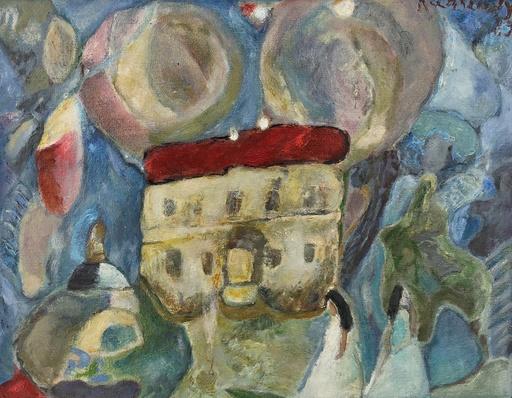 Guy KARSENTY - 绘画 - Le chateau