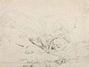 Camille Jean-Baptiste COROT, Italian Landscape