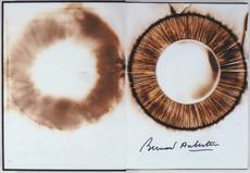 Bernard AUBERTIN - Painting - Dessin de feu sur livre