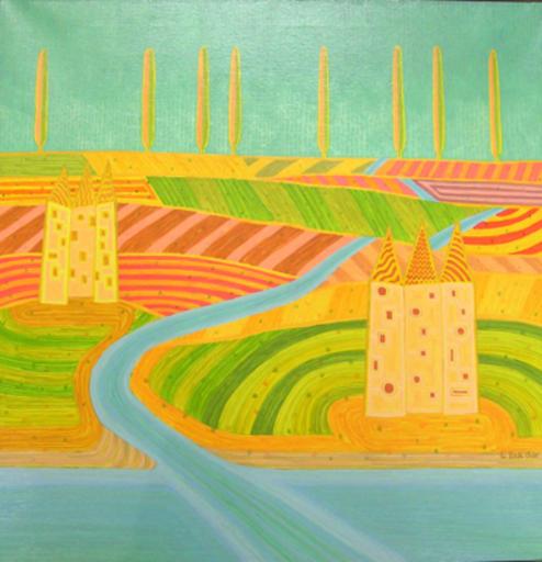 Luca DALL'OLIO - Painting - Vedere ad occhi chiusi