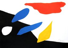 Alexander CALDER - Grabado - Untitled (Red Cloud)