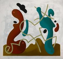 Enrique Rodriguez GUZPENA - Painting - Gamusino del jueves