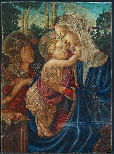 Umberto GIUNTI - Painting - Madonna con Bambino