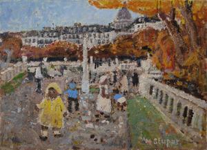 Marko STUPAR, Le Jardin du Luxembourg