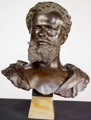 Giovanni Battista AMENDOLA - Skulptur Volumen - Frederic Lord Leighton