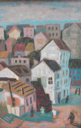 Felicia PACANOWSKA - Painting - Paysage urbain