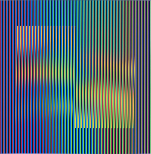 Carlos CRUZ-DIEZ - Sculpture-Volume - Color Aditivo betzaida B1