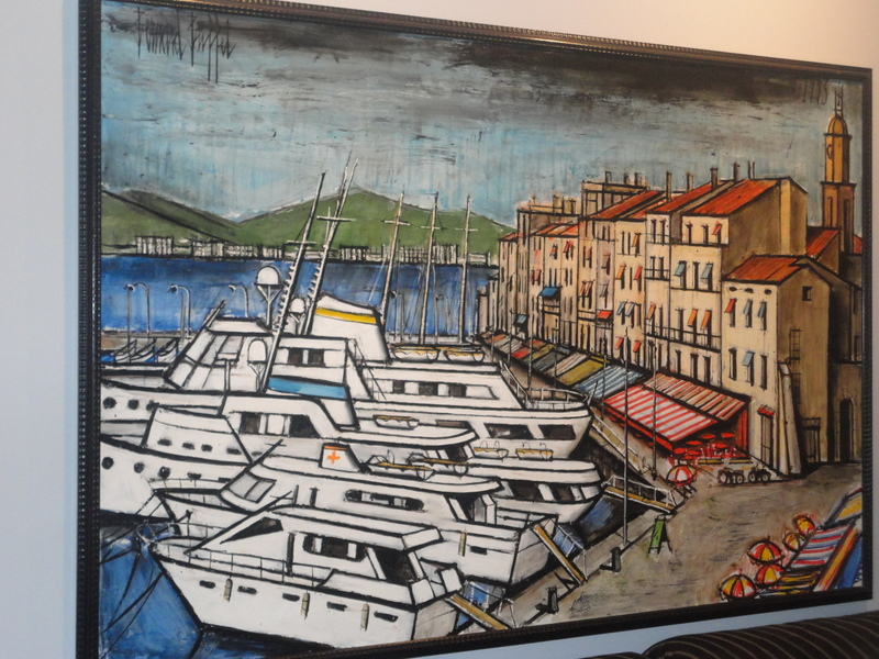 Bernard BUFFET - Painting - Port St. Tropez