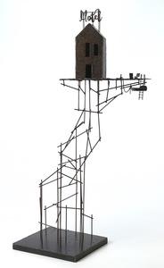 Frédéric LAVAUD - Escultura - Le motel du lac