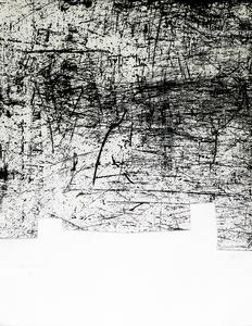 Eduardo CHILLIDA - Estampe-Multiple - Une helene de vent ou fumee II