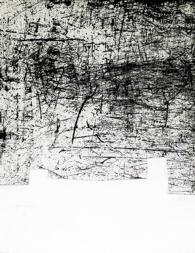 Eduardo CHILLIDA - Print-Multiple - Une helene de vent ou fumee II
