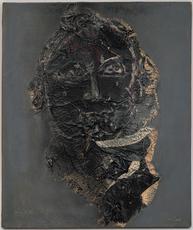 Ladislas KIJNO - Painting - portrait de Max Pol