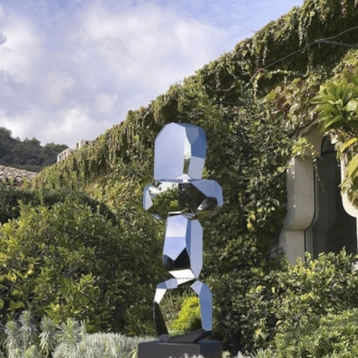 Arik LEVY - Skulptur Volumen - RockFormationTower 158