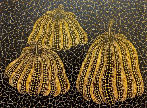 Yayoi KUSAMA - Stampa Multiplo - Three Pumpkins