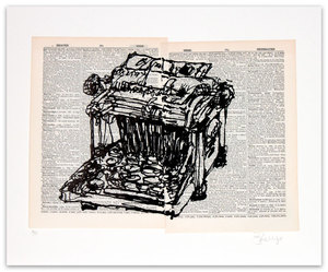 William KENTRIDGE, Universal Archive: Ref. 61