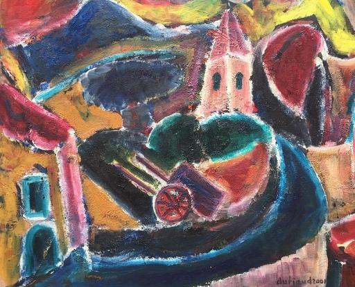 Christian DURIAUD - Pintura - Village en provence