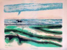 安德烈·布拉吉利 - 版画 - paysage