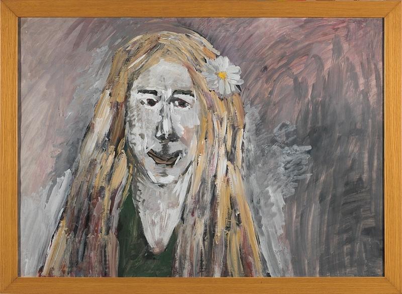 Vladimir Igorevich YAKOVLEV - Disegno Acquarello - A Girl
