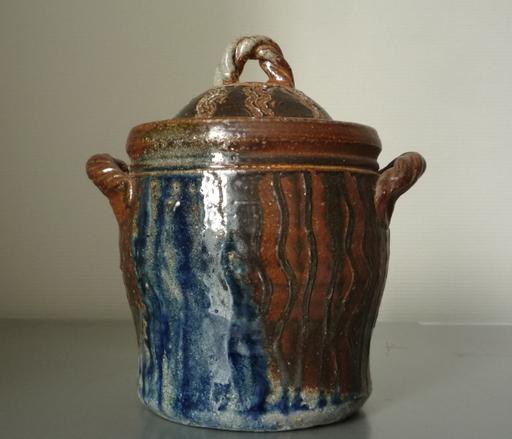 Jean CACHELEUX - Ceramic - pot couvert