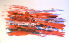 Allen JONES - Grabado - Fast Car