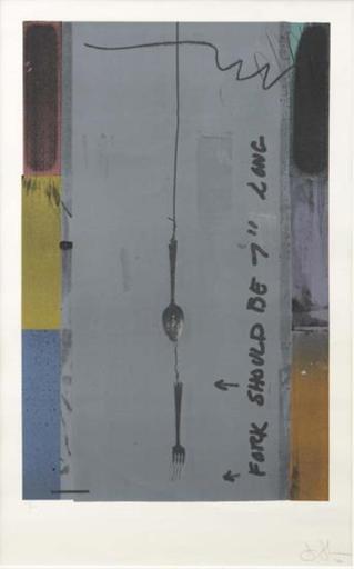 Jasper JOHNS - Print-Multiple - Screen Piece