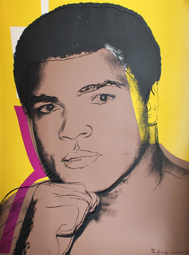 Andy WARHOL - Stampa-Multiplo - Muhammad Ali (FS II.182)