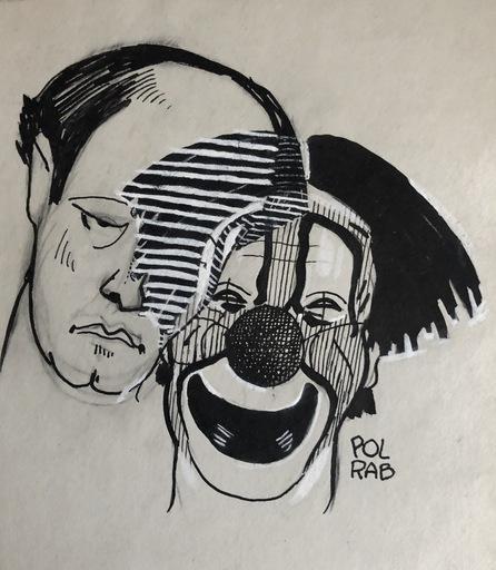 POL RAB - Dibujo Acuarela - Albert FRATELLINI