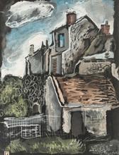 Pavel TCHELITCHEW (1898-1957) - The Houses