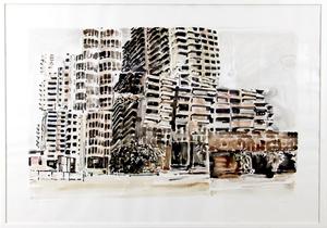 Philippe COGNÉE - Drawing-Watercolor - Le Caire