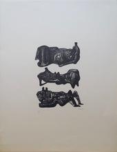 亨利•摩尔 - 版画 - Reclining Figures