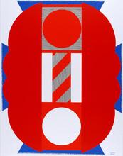 Kumi SUGAI - Stampa Multiplo - Rote Komposition