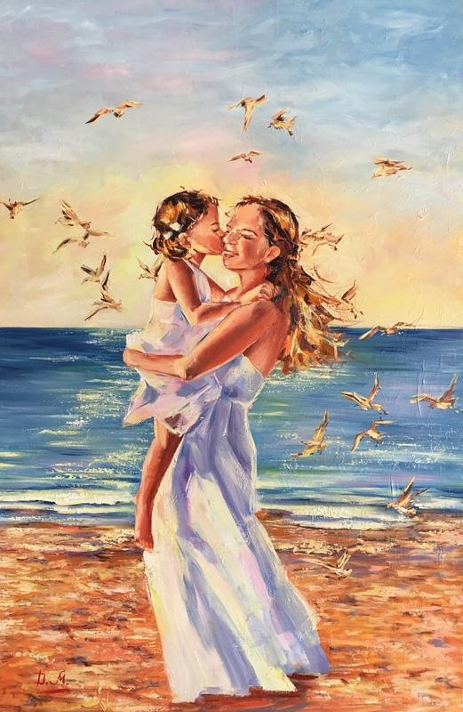 Diana MALIVANI - Pittura - Moments of Happiness