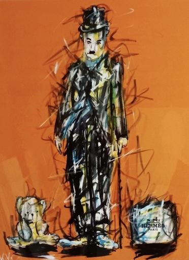 KIKO - Gemälde - Chaplin