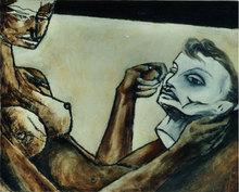 Mano CABUT - Painting - Arrête de pleurer