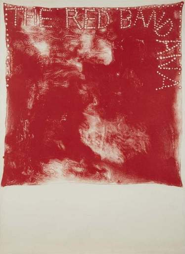 Jim DINE - Print-Multiple - Red Bandana