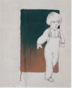 Valerio BERRUTI - Pintura - SANTA ORSOLA