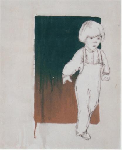 Valerio BERRUTI - Gemälde - SANTA ORSOLA