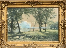 Albert-Gabriel RIGOLOT - Drawing-Watercolor - Paysage