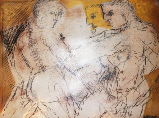 Christian BERNARD - 绘画 - Couple pluriel