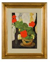 Nicolae TONITZA - Painting - Vase de Fleurs